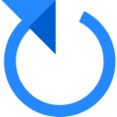Multimedia Option, interface, Arrows, loading, Reload, Direction, Circular Arrow, Orientation, Multimedia DodgerBlue icon