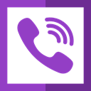 Logo, social network, phone call, logotype, Viber, Logos, social media DarkOrchid icon