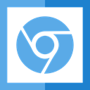 windows, Logo, chrome, google, Browser CornflowerBlue icon