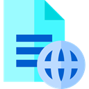 File, global, remove, Archive, document, delete, worldwide, Multimedia PaleTurquoise icon