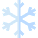 winter, weather, snowflake, Snow, nature, Frost, Cold Black icon