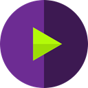 Multimedia Option, music player, video player, Multimedia, play Icon