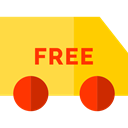 Delivery, Cargo Truck, vehicle, Automobile, truck, transport, Delivery Truck SandyBrown icon