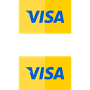pay, Debit card, Credit card, visa, payment method, commerce Black icon