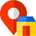 Gps, Map Location, house, Home, Map Point, placeholder, signs, real estate, pin, map pointer OrangeRed icon