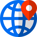 Geolocalization, Maps And Flags, position, placeholder, Gps, Map Location, Map Point, map pointer, pin DodgerBlue icon