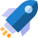 Rocket Ship, Space Ship, Rocket, transport, Spacecrafts, Business, Rocket Launch Teal icon