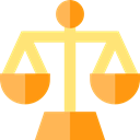 Business, judge, Balanced, law, libra, Tools And Utensils, Balance, zodiac, justice Black icon