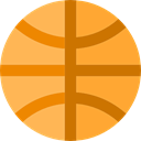 equipment, team, Sport Team, Basketball, sports Goldenrod icon