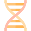 education, science, medical, Biology, Deoxyribonucleic Acid, dna, Genetical, Dna Structure Black icon