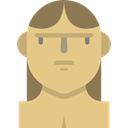 primitive, Stone Age, woman, prehistoric, Troglodyte, people, Avatar BurlyWood icon