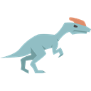 Guanlong, dinosaur, Carnivore, Animals, Wild Life, Extinct Black icon