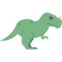 Ceratosaurus, dinosaur, Carnivore, Extinct, Animals, Wild Life Black icon