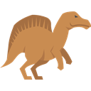 Herbivore, Wild Life, Animals, Ouranosaurus, Extinct, dinosaur Peru icon