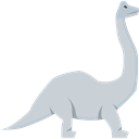 Animals, Wild Life, Brachiosaurus, Extinct, dinosaur, Herbivore Icon