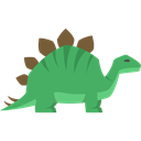 Extinct, Herbivore, Animals, stegosaurus, Wild Life, dinosaur Black icon