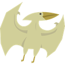 dinosaur, Animals, Extinct, Wild Life, Carnivore, Pterosaurus Tan icon