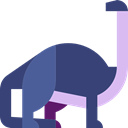 dinosaur, Apatosaurus, Animals, Extinct, Wild Life, Herbivore DarkSlateBlue icon
