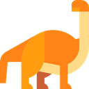Camarasaurus, dinosaur, Wild Life, Extinct, Animals, Herbivore DarkOrange icon