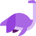 Extinct, Elasmosaurus, Animals, dinosaur, Wild Life MediumPurple icon