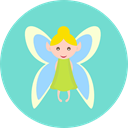 fairy, Fairy Tale, legend, Fantasy, Literature, Folklore, people, Character SkyBlue icon