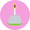 legend, Excalibur, Folklore, sword, Fairy Tale, Fantasy, weapons Icon