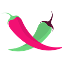 pepper, Spicy, vegetarian, hot, Chili, food, organic, vegan, Chili Pepper Black icon