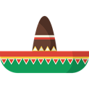 Mexican Hat, fashion, traditional, Mariachi, moustache Icon
