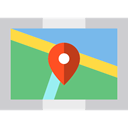 Maps And Flags, location, Map Locator, pin, Map, Map Position, placeholder, signs MediumSeaGreen icon