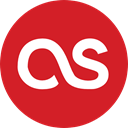 logotype, Logos, social network, Lastfm, social media, Logo Crimson icon