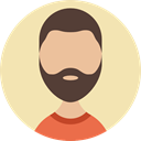 Facial Hair, Man, Avatar, profile, people, user, Beard Wheat icon