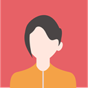 woman, people, user, Avatar, profile, Business IndianRed icon