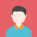 Man, people, Business, profile, user, Avatar IndianRed icon