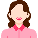 woman, user, people, profile, Business, Avatar LightPink icon