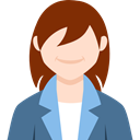 profile, woman, Avatar, Business, people, user SaddleBrown icon