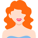 people, profile, user, Avatar, Business, woman Bisque icon