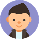 Avatar, profile, user, Business, people, Boy MediumPurple icon