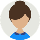 Business, user, profile, Avatar, people, woman Gainsboro icon