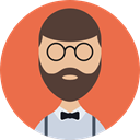 user, Business, people, profile, Avatar, Man Tomato icon