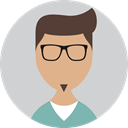 profile, Man, user, Avatar, Business, people LightGray icon