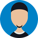 user, people, Business, Man, profile, Avatar DarkCyan icon