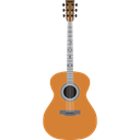 String Instrument, Orchestra, guitar, Acoustic Guitar, musical instrument, music Black icon
