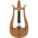 String Instrument, music, Zither, Orchestra, musical instrument Black icon