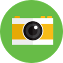 technology, photograph, photo camera, picture, digital YellowGreen icon