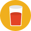 drink, wine, cup, drinking, glass, Wine Glass, food Goldenrod icon