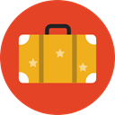 baggage, Tools And Utensils, luggage, travelling, suitcase Chocolate icon