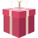 surprise, Christmas Presents, birthday, gift, present IndianRed icon