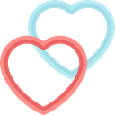 rate, Hearts, shapes, Favourite, Heart, signs, Favorite Black icon