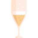 food, Alcohol, Alcoholic Drinks, Celebration, party, champagne Black icon