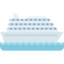 Cruise, Ships, Yacht, Boat, ship, transport Black icon